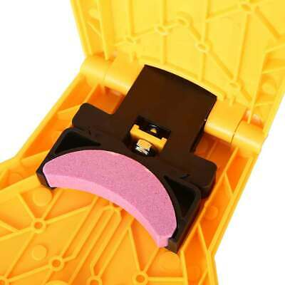 Chainsaw Tool Teeth Sharpener Woodworking Self Sharpening Grinding Chain Quick @