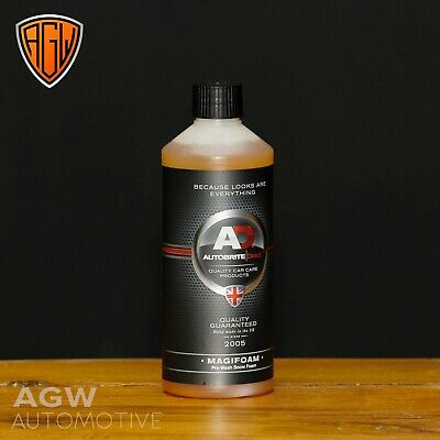 Autobrite Direct MagiFoam 500ml - White Snow Foam - Touchless Cleaning