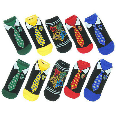 Book Week Harry Potter Kids Gryffindor Ravenclaw Short Socks Cosplay Birthday
