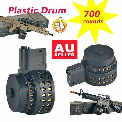 High Capacity Drum Magazine For JINMING Gen8 M4/Gen9 M4/Gen10 ACR Gel Blaster EA