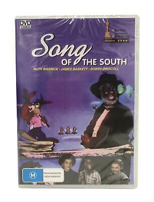Song of the South DVD All Regions (Plays Worldwide) Neu & Sealed