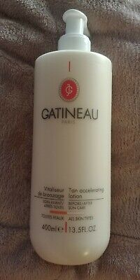 Gatineau Tan Accelerating Lotion 400ml Supersize BN!