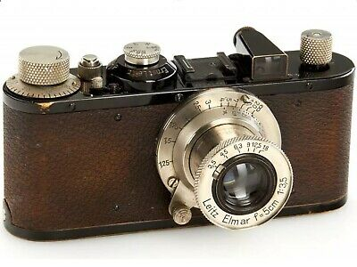 LEICA Standard Black Nickel -1936 Serial No.212426 with Leitz Elmar f=5cm 1:3,5