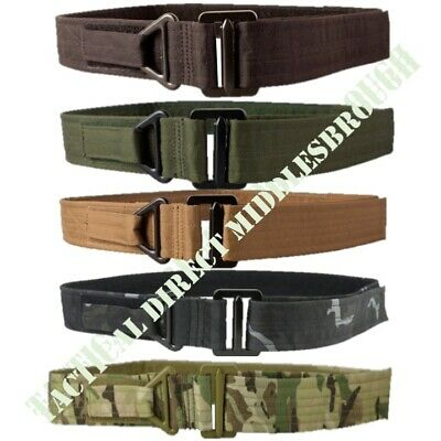 "Mens Tactical Rigger Belt Extremely Tough 30"" - 38"" Mtp Btp Army Camo Security"
