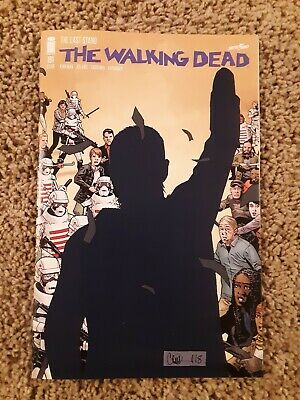 Walking Dead 191 (Image, May 2019) 1st printing death of Rick Grimes, tough book