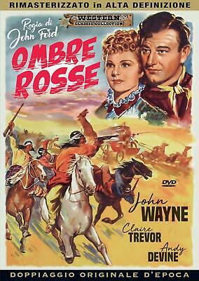 Dvd Ombre Rosse - (1939) John Wayne  *** A&R Productions *** .......NUOVO
