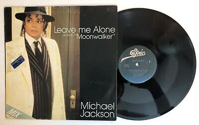 "Michael Jackson - Leave Me Alone - 1987 Brazil 12"" Single Moonwalker VG++"