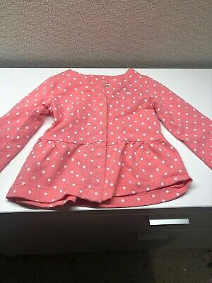 Carter's 4T Pink Long Sleeve Shirt
