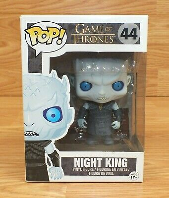 Genuine Funko Pop! #44 Game of Thrones Night King Collectible Vinyl Figure