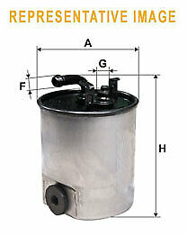 WIX WF8425Car Fuel Petrol Filter Metal type pipe/thread Replaces- WK8202x