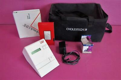 Cholestech LDX Blood Cholesterol Analyzer and with User Manual & VHS