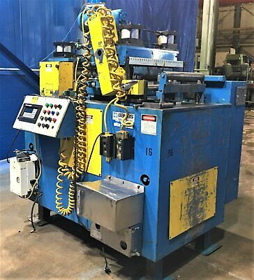 "18"" x 0.147"" Thick Dallas PTS-409RH/DRFSH-418-RH Coil Servo Feeder Straightener"