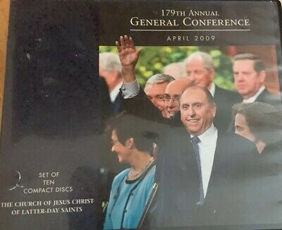179th Annual General Conference April 2009 LDS Mormon audio cds sealed