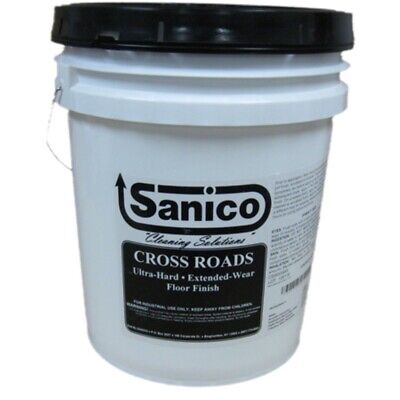 Sanico Crossroads Floor Finish - 5 Gal. Pail , 5 Gal. Pail