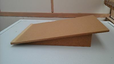 Hand made writing slope