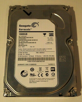 "Seagate Barracuda 3.5"" 1TB Internal HDD (ST1000DM003)"