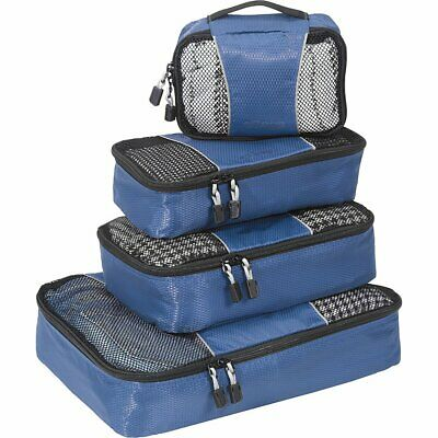 eBags Classic Small/Medium Packing Cubes for Travel - Organizers - 4pc Set - ...