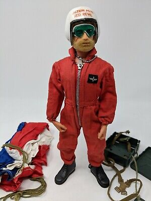 ORIGINAL VINTAGE ACTION MAN RED FIRST AID BOX CB30841