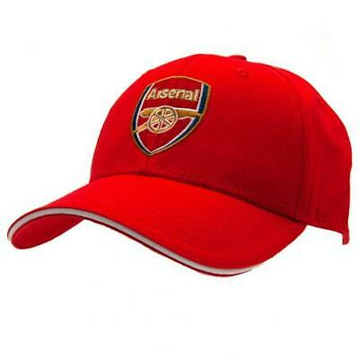 Arsenal Fc Adult Baseball Cap Red - Official Gift