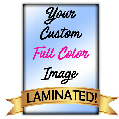 """24""""x 36"""" Glossy look Custom Printed Poster Your Photo Image Enlarged *LAMINATED*"""
