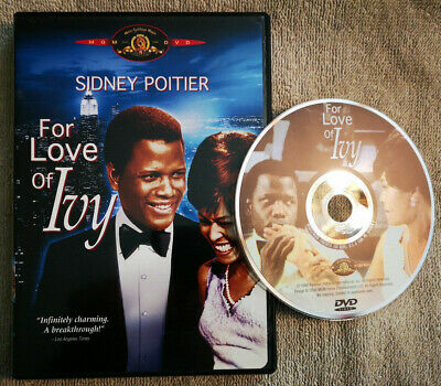 For Love of Ivy 1968 (DVD MGM 2004 R1 USA OOP) Sidney Poitier