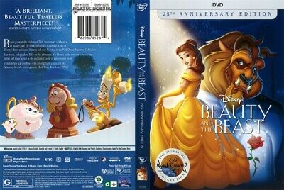 Beauty and the Beast (DVD, 2017, 25th Anniversary Collection)