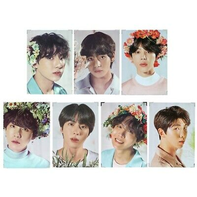 KPOP BTS LOVE YOURSELF Wall Poster Bangtan Boys Coated Photo Frame Poster US