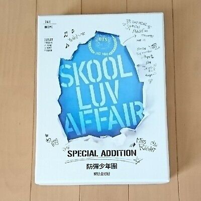 BTS Bangtan Boys Skool Luv Affair 2nd Album Special Edition Set Japan USED F/S