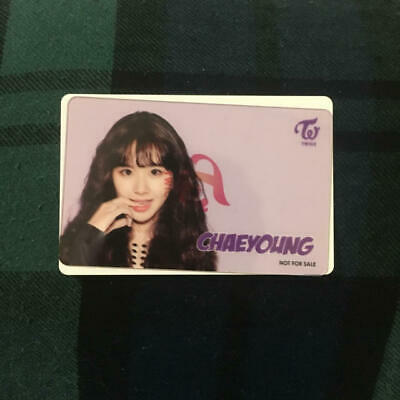 SR - TWICE (One More Time) Transparent PhotoCard : Chaeyoung - Japan LE 300 NfS