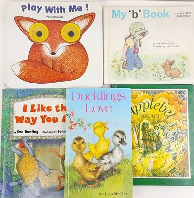 childrens picture books story hardcover bedtime story time lot of 5
