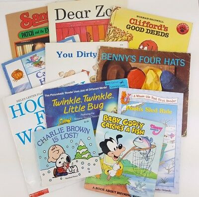 childrens picture books story bedtime story time lot of 11