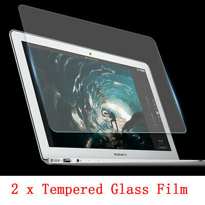 """2x 9H Tempered Glass Guard Screen Protector for MacBook AIR PRO 13"""" 15"""" Touch"""