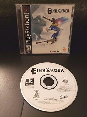 Einhänder Squaresoft Sony PlayStation 1 2 3 4 PSOne PS1 Like-New COMPLETE CIB
