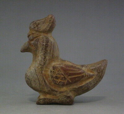 Chinese Hongshan culture Old Jade(agate) Hand Carved Chicken Pendant /Amulet