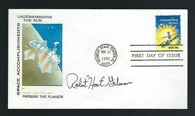 "Robert ""Hoot"" Gibson signed cover NASA Shuttle Astronaut Space Exploration"