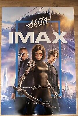 Alita Battle Angel IMAX Double Sided DS original movie poster 27x40