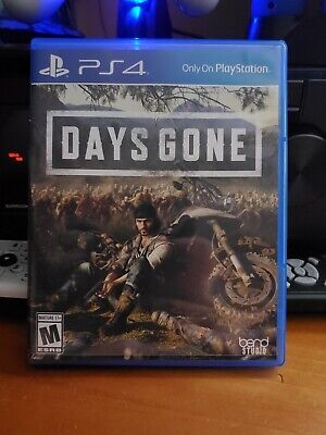 Days Gone PS4 Playstation 4 game zombie survival