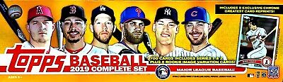 2019 TOPPS COMPLETE 700 CARDS SET IN FACTORY SET BOX w/ ALONSO TATIS JIMENEZ RC