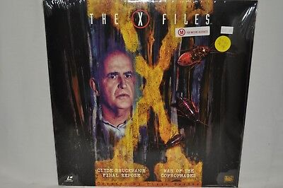 "Laserdisc The X Files ""Clyde Bruckmans Final Repose"" AS315"