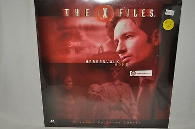 "Laserdisc The X Files ""Herrenvolk Home"" AS302"