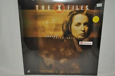 "Laserdisc The X Files ""Unruhe Paper Hearts"" AS301"