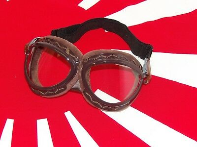 WWII WW2 Imperial Japanese Army Pilot Navy Flight Goggles Vintage Retro CUSTOM