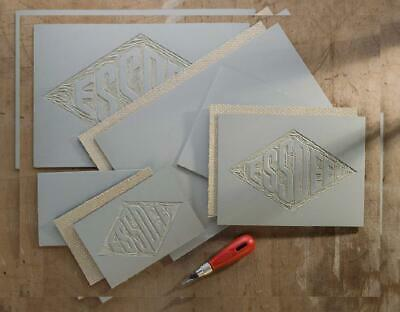 Essdee Five Lino Cutters and Handle Set (Lino Cutter Styles 1 to 5)