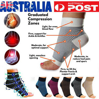 Compression Socks Ankle Support Pain Relieve Swelling Arch Heel Socks Arthritis