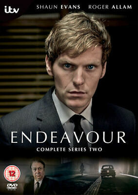 Endeavour: Complete 2nd Series Dvd Brand New & Factory Sealed