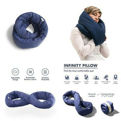 Infinity Pillow Design Travel Pillow Soft Neck Support Pillow Machine Washable