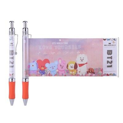KPOP BTS Ink Gel Pen JIMIN JUNGKOOK Photo Ball Point Pens Office School Supplies