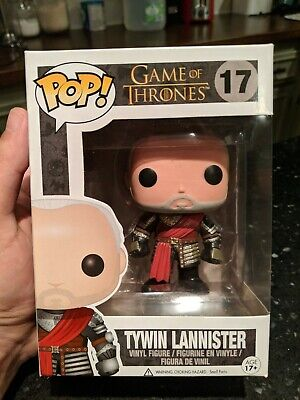Funko POP Game of Thrones Tywin Lannister Gold Armor Variant #17 EXCELLENT