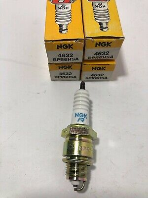 NGK Spark Plugs BPR6HSA Stock No.4632 4 SPARK PLUGS