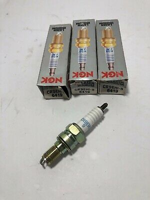NGK Spark Plugs CR9EHI-9  3  SPARK PLUGS LASER IRIDIUM  No.6419 CBR 900RR